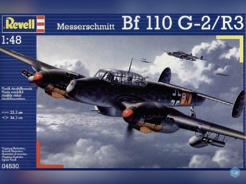 MESSERSCHMITT Bf 110 G-2R3 1