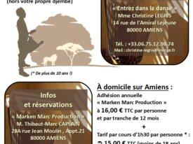 #Cours de #djembé à #Amiens