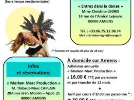 #Cours de #zouk à #Amiens