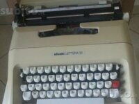 Macchina per scrivere vintage Olivetti Lettera 35 1