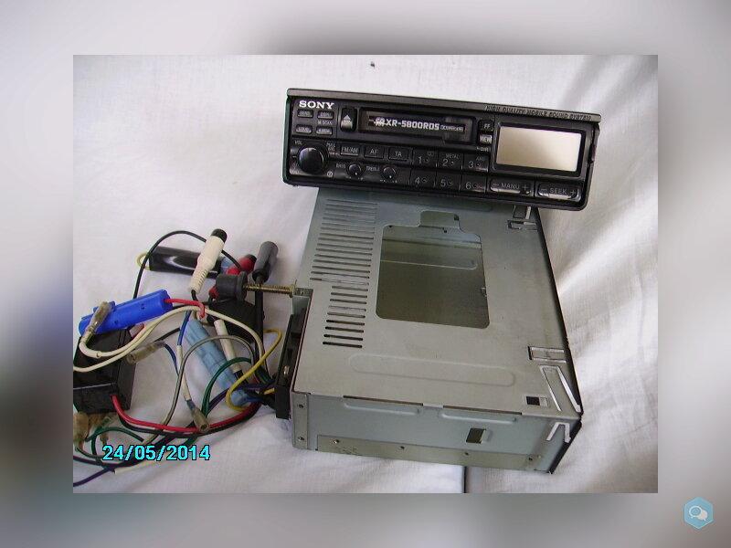 Autoradio mangianastri Sony XR5800  1