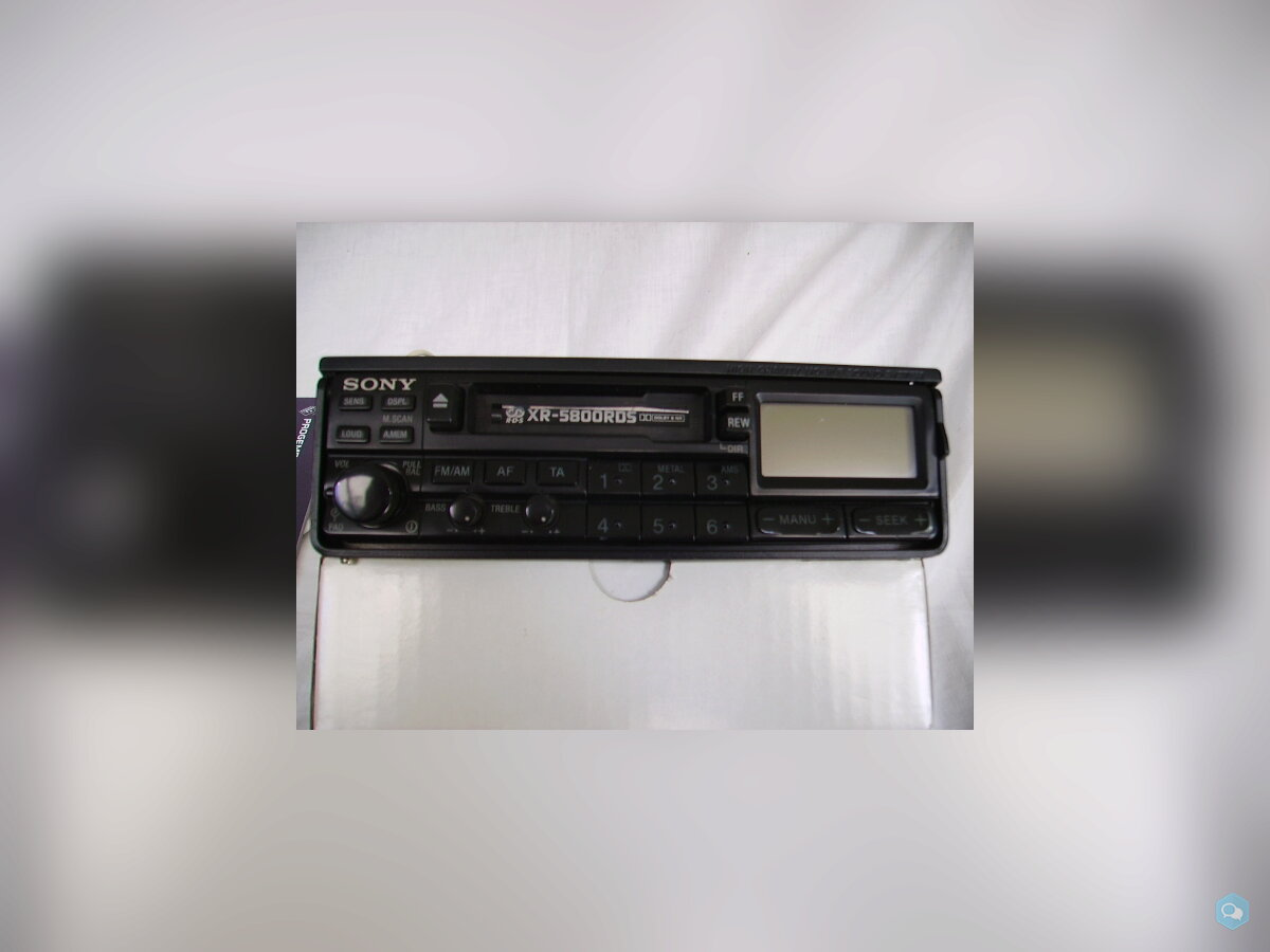 Autoradio mangianastri Sony XR5800  2