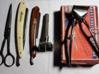 Macchinetta per capelli + forbici Vintage 1