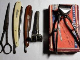 Macchinetta per capelli + forbici Vintage