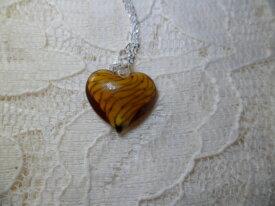 Petit Coeur en Pâte de Verre