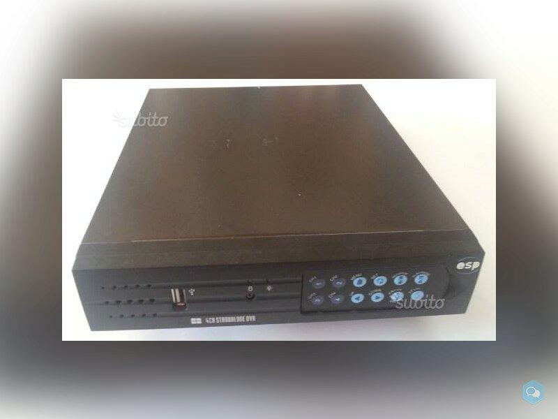 Video sorveglianza DVR TA-468 4CH Standalone  1