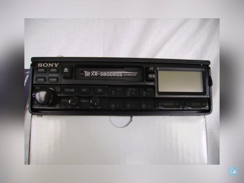 Autoradio mangianastri Sony XR5800 rds 2