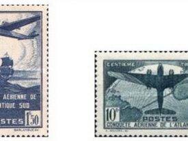 Conquête aérienne de l'Atlantique-Sud (1936) RARES