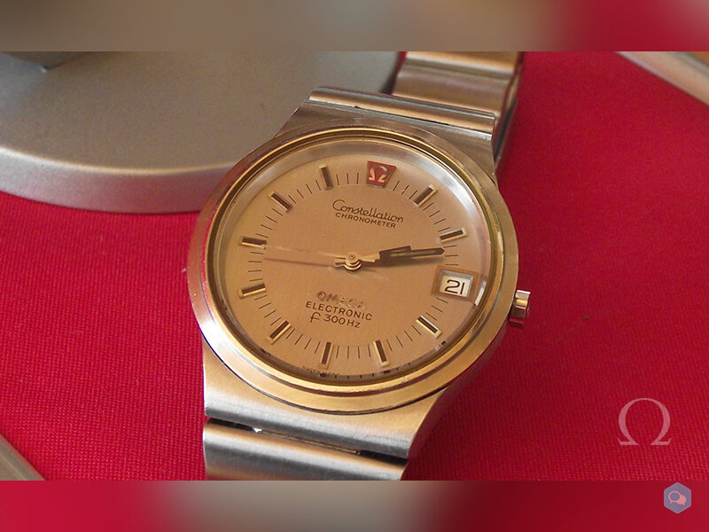 Sold 1972 Omega Constellation F300 4