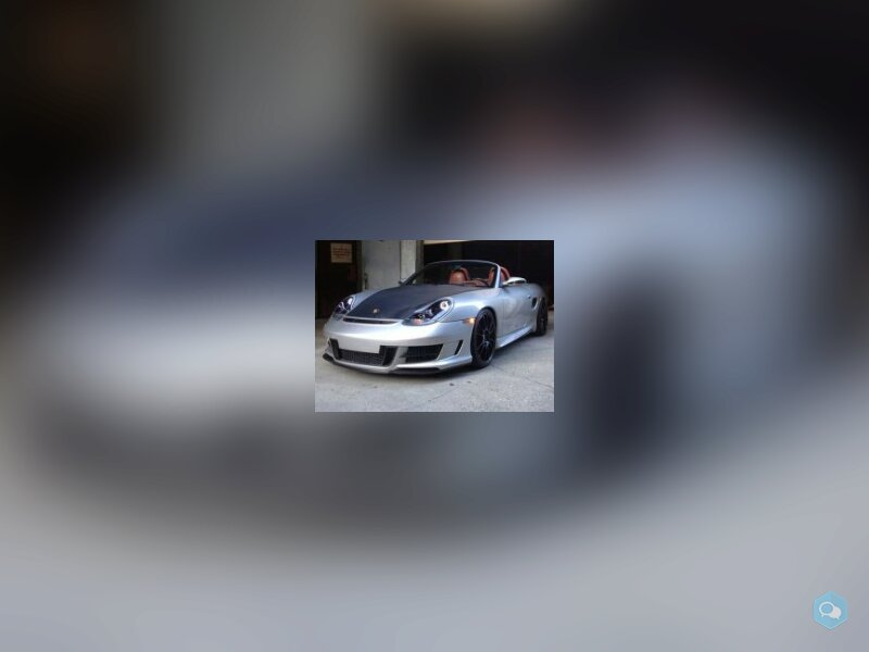 Promo KIT carrosserie Porsche boxster 986 PR1 1