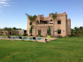 غرف، شرفة، حديقة، مراكش