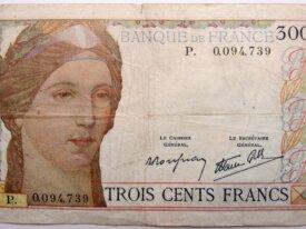 300 francs type 1938