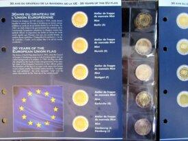Série 30 ans du drapeau Européen - 23 pièces Neuve