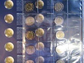 - Série 10 ans de l'Euro - 20 pièces Neuves - 2009