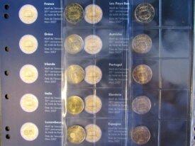 - Série Traité de Rome - 17 pièces Neuves - 2007 -
