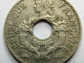 - Colonie - Indochine - 5 CENT - 1938 -