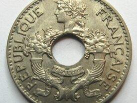 - Colonie - Indochine - 5 CENT - 1939 -