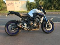 Vends MT09 2016 ABS TCS 4200kms + Akrapovic  1