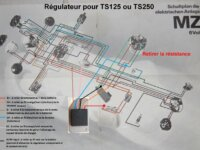 Régulateur pour dynamo (6v) 3