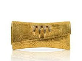 CLAW RINGS Long Envelope Clutch
