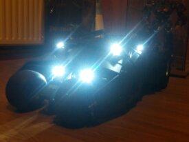 Hot Toys Batmobile Tumbler noire à vendre