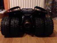 Hot Toys Batmobile Tumbler noire à vendre 4
