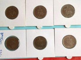 lot de 1 francs semeuse nikel