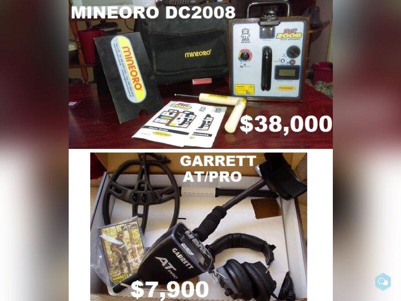 VENDO VARIOS DETECTORES DE METALES Y TESOROS 5