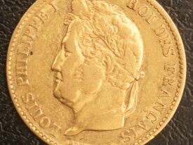 40 Francs Or Louis Philippe 1831 A