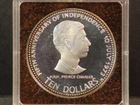 10 DOLLARS 1978 BAHAMAS - Argent BE