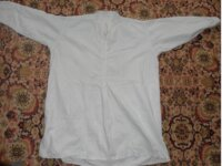Госпитальная немецкая рубаха времен ВОВ 1