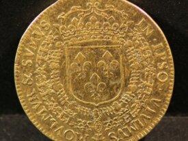JETON LOUIS XIV - 1650 - Ecu de France - F.12464