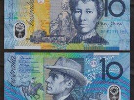 10 DOLLARS 2002 AUSTRALIE