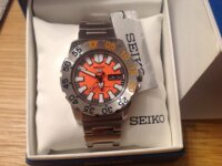 Sold Seiko 5 sport srp483 mini monster  2