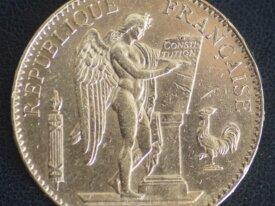 100 FRANCS OR GENIE 1879 A