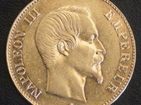 100 FRANCS OR NAPOLEON III 1858 A