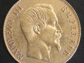 100 FRANCS OR NAPOLEON III 1859 A