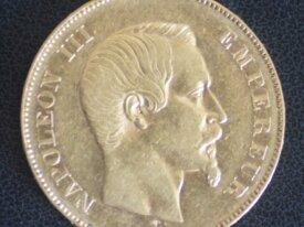 50 FRANCS OR 1855 A