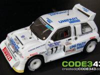 CODE343 : 1/43 Toivonen 1986 Manx Rally decals 1