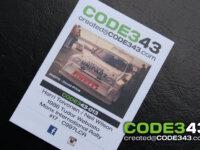 CODE343 : 1/43 Toivonen 1986 Manx Rally decals 2