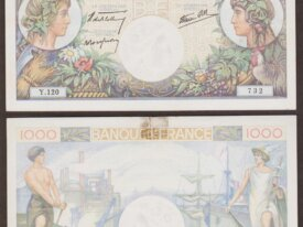 1000 Francs 1940 Commerce et Industrie - Y.120