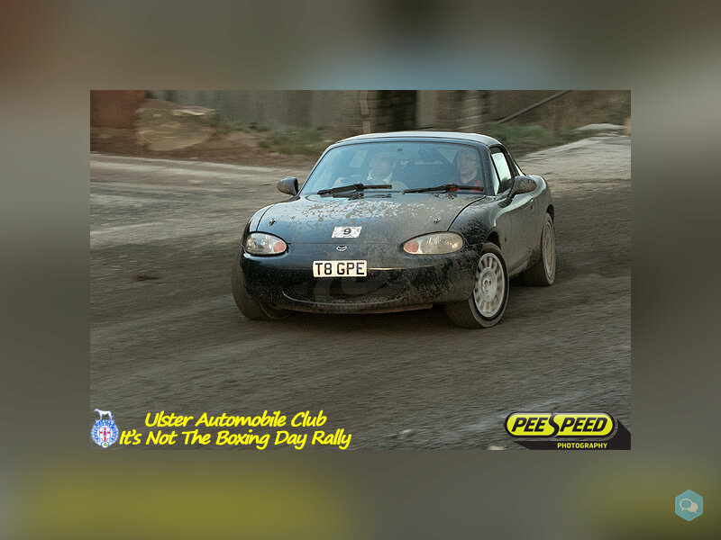 Rally winning MX5 3