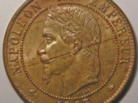 NAPOLEON III 10 Centimes 1863 A