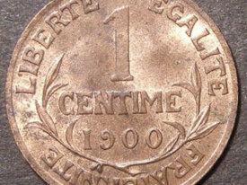 DUPUIS 1 Centime 1900