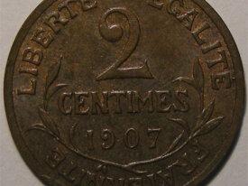 DUPUIS 2 Centimes 1907