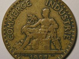 CHAMBRE DE COMMERCE 2 Francs 1927
