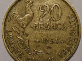 GUIRAUD 20 Francs 1954B