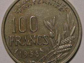 COCHET 100 Francs 1958 Chouette