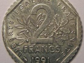 SEMEUSE 2 Francs 1991
