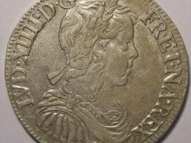 LOUIS XIV 1/2 Ecu 1650 H